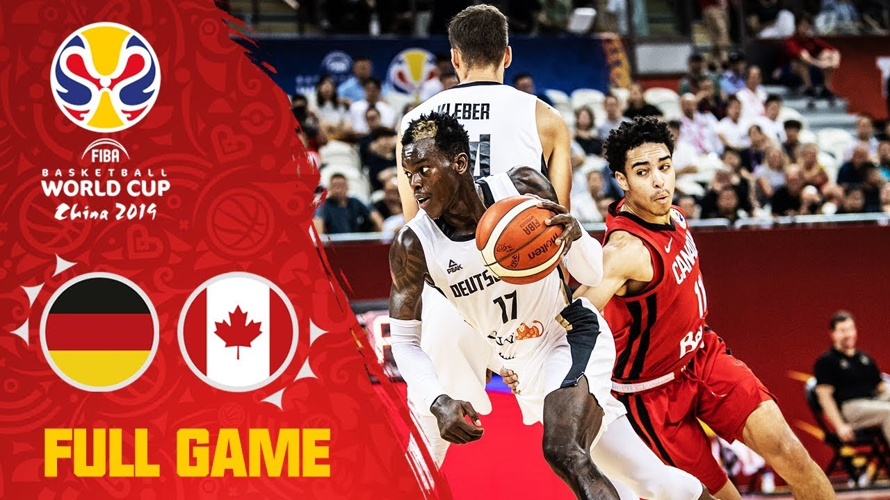 Schroder's double-double pushed Germany past Canada! - Full Game - FIBA Basketball World Cup 2019