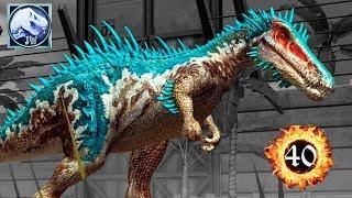 Барионикс Baryonyx прокачка динозавра Jurassic World The Game