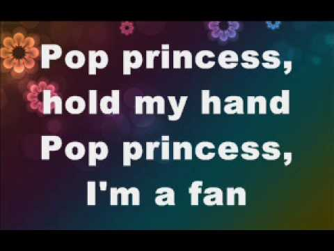 pop princess by the click five with lyrics