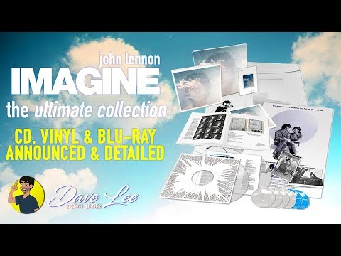 JOHN LENNON - IMAGINE: THE ULTIMATE COLLECTION - CD, Vinyl, Blu-ray Announced & Detailed