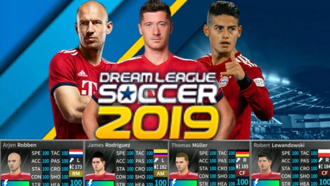 Bayern munich New Update ALL PLAYERS 100 - DREAM LEAGUE SOCCER 2019