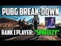 """PUBG Breakdown: Rank 1 Player """"Spreeezy"""" - PLAYERUNKNOWN'S BATTLEGROUNDS TIPS AND TRICKS GUIDE"""