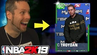 I'M IN THE GAME! NBA 2K19 MYTEAM DEBUT!