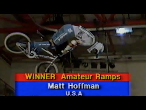 Matt Hoffman Wins The World Freestyle Champs