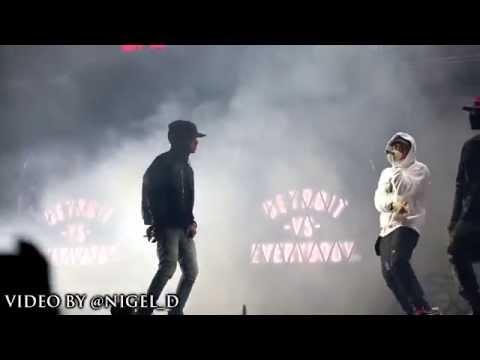 Detroit vs Everybody Live in Detroit (Eminem,Big Sean, Royce)