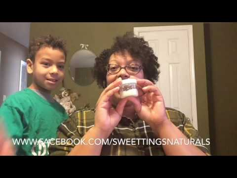 Sweet Tings Naturals deodorant Review