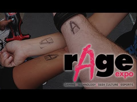 Rage Video Gaming Expo 2017 - Johannesburg, South Africa