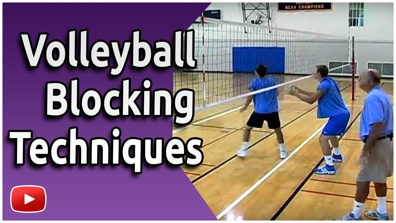 Volleyball Blocking Skills And Drills Coach Al Scates Youtube
