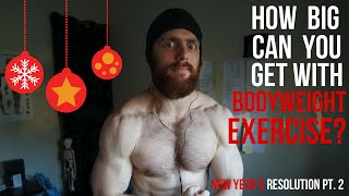 Video How big can you get with Bodyweight training? download MP3, 3GP, MP4, WEBM, AVI, FLV Oktober 2018