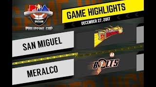 PBA Philippine Cup 2018 Highlights: SMB vs. Meralco Dec. 27, 2017
