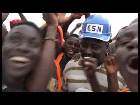 8e Jeux de la francophonie : Ambiance au village  Akwaba