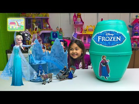 New Frozen Toys - Queen Elsa Musical Ice Castle Toy Sings