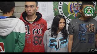 En Altavista capturan a una mujer y a tres hombres en poder de un fusil y dos pistolas