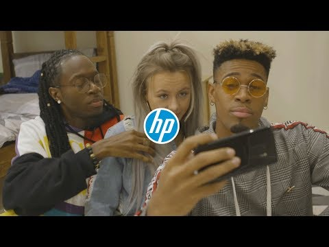 X Factor's Misunderstood make some memories with the HP Sprocket