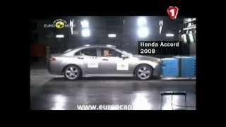 Краш-тесты Honda CR-V 2013 и Citroen C4 Picasso 2013 (видео)