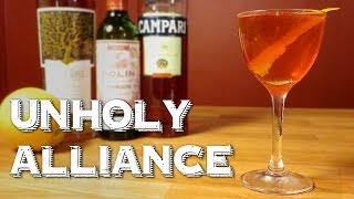 Unholy Alliance - the Modern Negroni Remix with Scotch Whisky, Campari & Sweet Vermouth