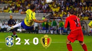 Brasil x Bélgica [Copa do Mundo 2002 - Oitavas de Final]