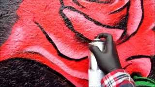 How To Paint A Rose In Spray Paint