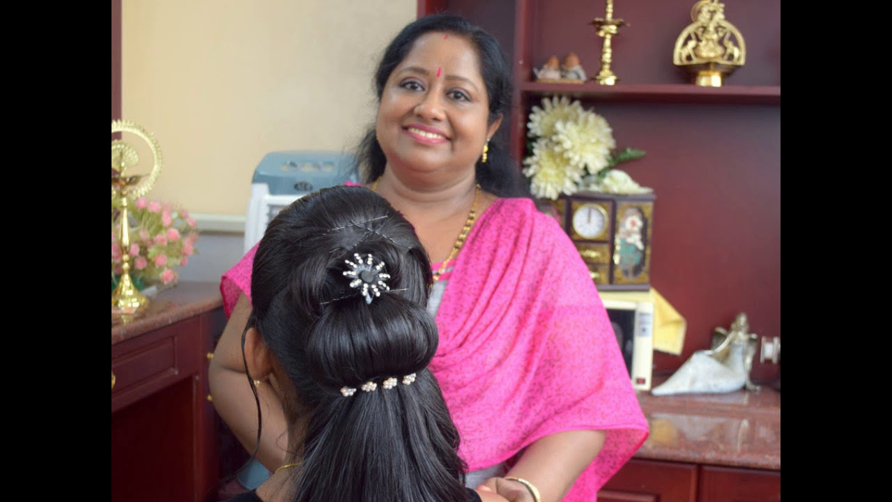 simple indian hair styles easy reception hairstyle 4966 | maxresdefault