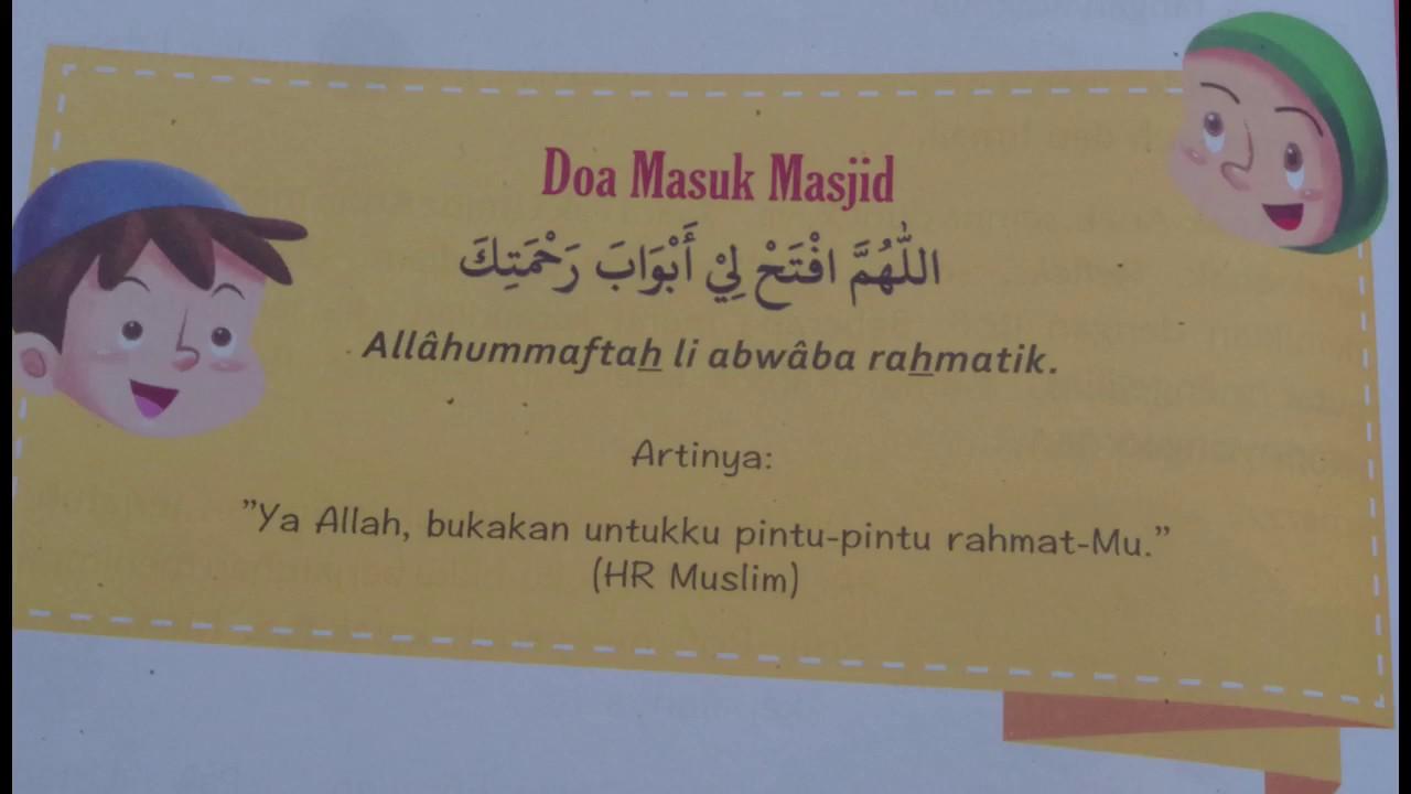 Dongeng Islami: Doa Sebelum Masuk Masjid