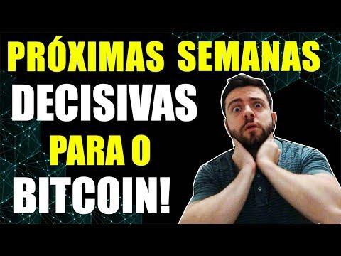 Próximas Semanas Serão Decisivas Para O Bitcoin! Entenda O Motivo!