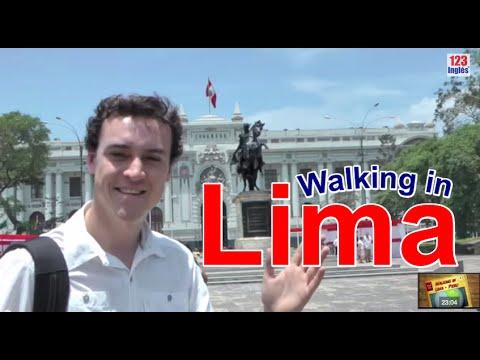 Walking in Lima, Peru  (Full HD) 123 Inglés TV Show!