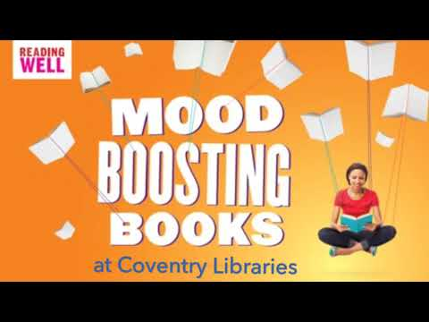 Mood boosting books at Coventry Libraries