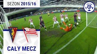 Pogoń Szczecin - Cracovia [1. połowa] sezon 201516 kolejka 36