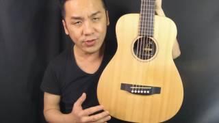 2016 NEW - Martin Little Martin LX1E Guitar Review in Singappore