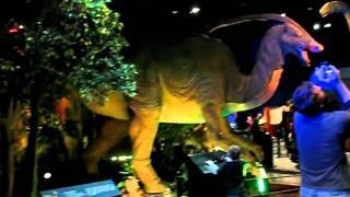 видео Парк динозавров откроется в Дарвиновском музее