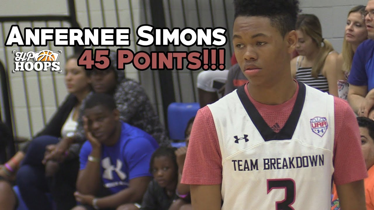 Anfernee Simons Made His 45-Point Performance Look EFFORTLESS!! - Full  Highlights df263c5f4