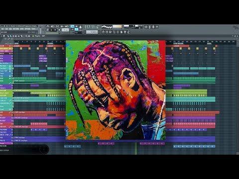 Travis Scott - HOUSTONFORNICATION Instrumental Prod By Chapouz