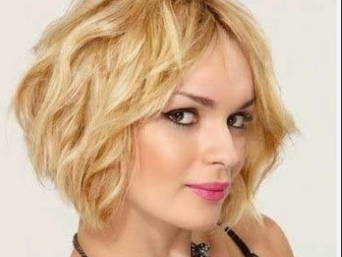 Wavy Bob Hairstyles For Fine Hair Youtube
