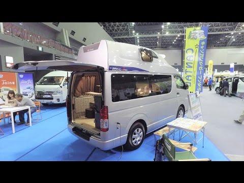완전 높은 승합차 캠핑카 - 도요타 하이에이스 - Toyota Hiace Van Conversion - Japan Camping Car Show 5