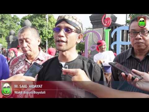 peringatan hari tari sedunia kabupaten boyolali