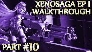 Ⓦ Xenosaga Ep. 1 Walkthrough - Part 10 ▪ Tiamat Boss Fight, Gnosis Invade the Foundation [PCSX2/1080p]