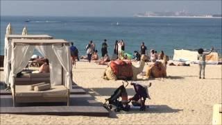 видео ОАЭ: пляжи Дубая
