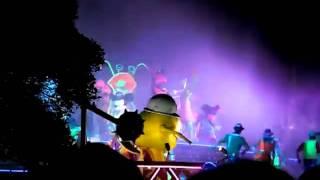 tokyo disneyland_monster inc. party dance performence-1(by ankush)