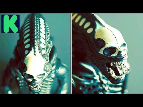 Xenomorph - Alien book and figure ( Kickstarter )