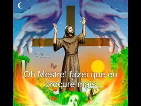 Oração de São Francisco de Assis, Vídeo Mensagem e Letra da Oração.