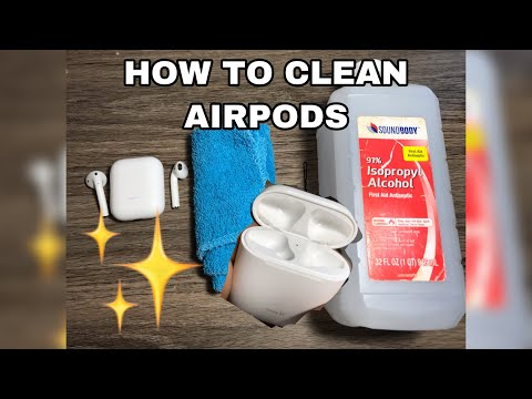 HOW TO CLEAN AIRPODS/ EARBUDS 2019 EDITION