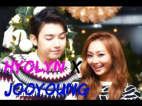 Hyolyn X Jooyoung (효린X주영) ♥ Cute moments