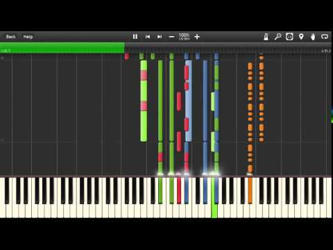 Sunstroke ProjectRun Away EPIC SAX GUY PianoSynthesia