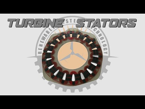 Making Wind Turbine Stators: Vacuum Injection