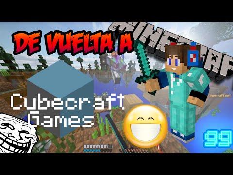 DE VUELTA A CUBECRAFT!!!|SkyWars|Minecraft + 1 Fail