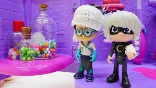 Doc McStuffins hat Sprechstunde - Lunagirl und Romeo - Spielzeugvideo für Kinder
