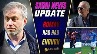 ROMAN TO TAKE CONTROL IN SARRI DEAL || Jorginho closer to Chelsea move!? || Chelsea Transfer Daily