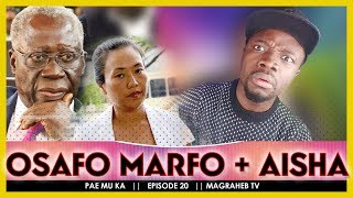 💥 Osafo Marfo under F!RE over Galamsay Boss Aisha Huang Comment