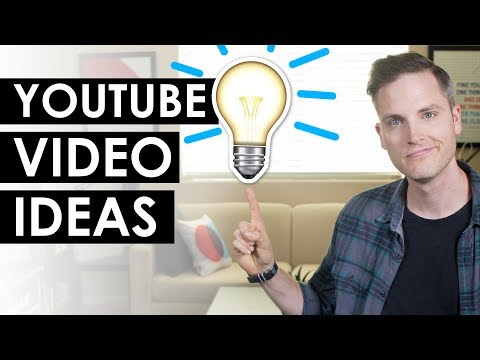 How to Come Up with Good Video Ideas for YouTube — 5 Tips