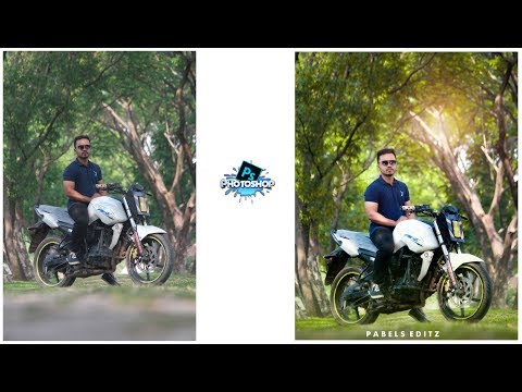 Photoshop Editing Tutorial || How to edit and retouch DSLR outdoor photo || Outdoor Portrait Editing